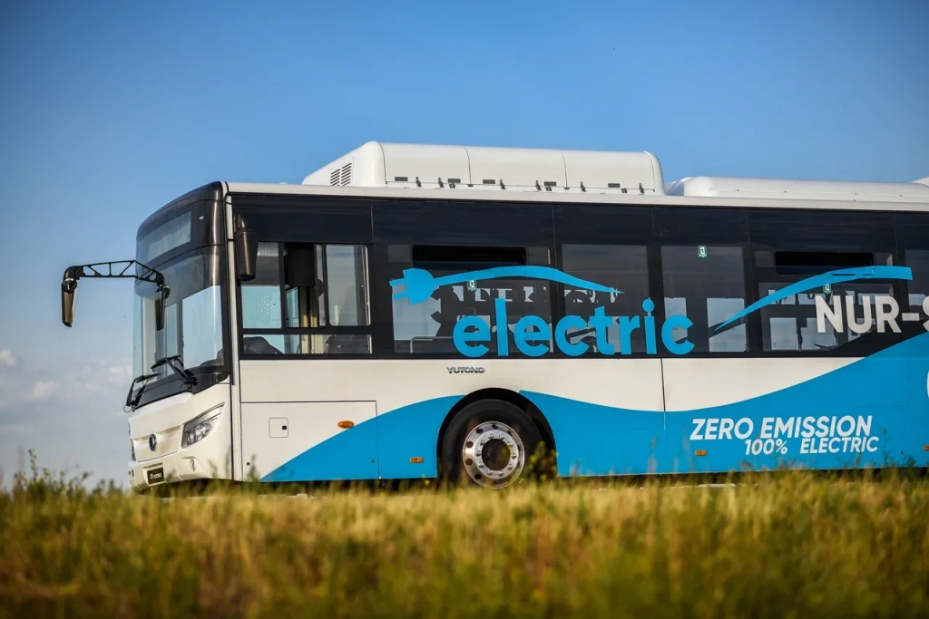 yutong bus Kazakhstan