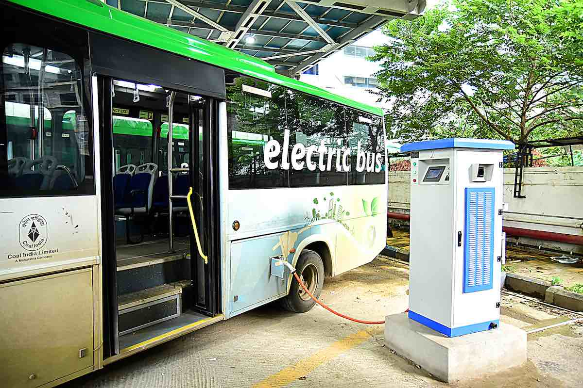 electric bus india