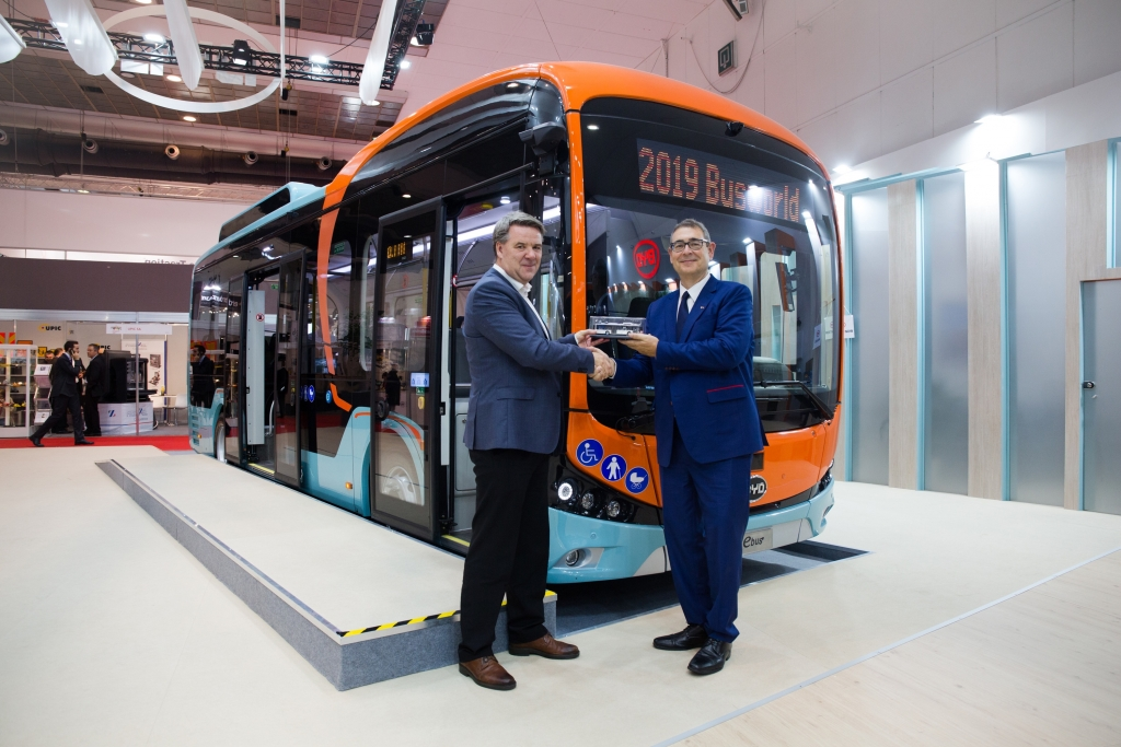 byd pure electric bus vy buss