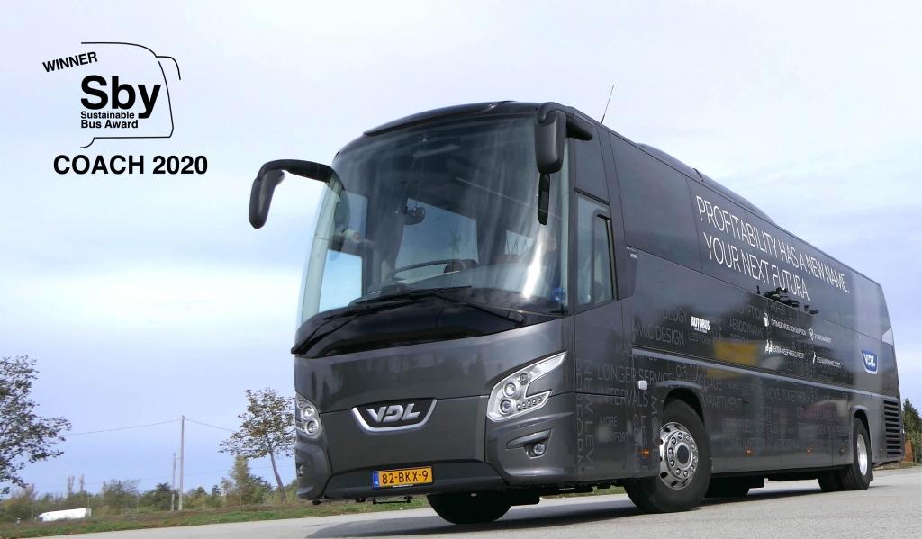 vdl futura sustainable bus award 2020