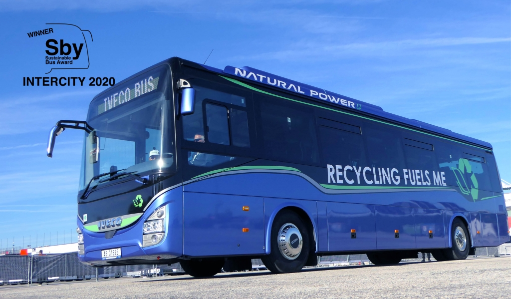 iveco crossway sustainable bus award 2020