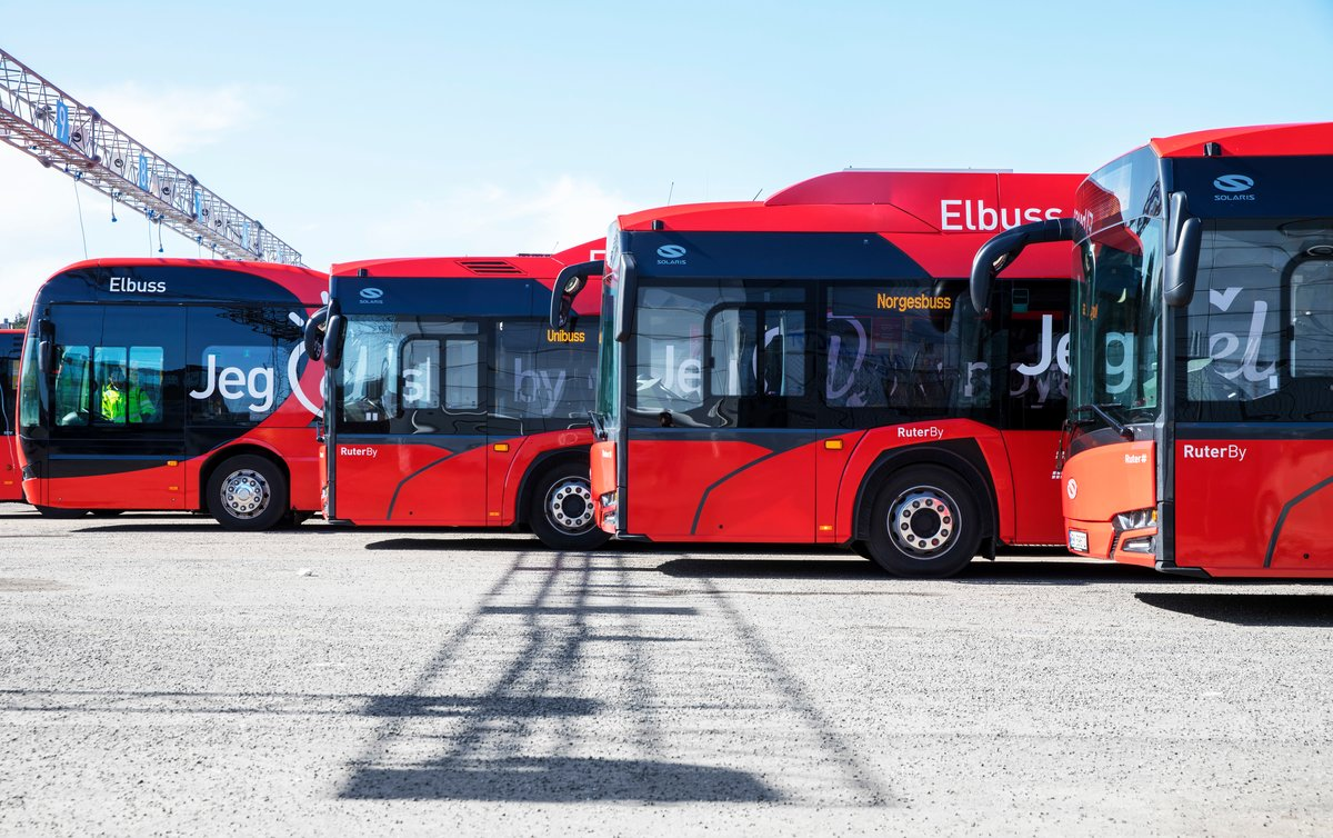 electric bus oslo