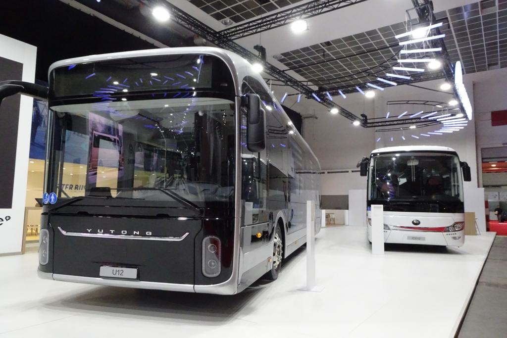 yutong electric bus