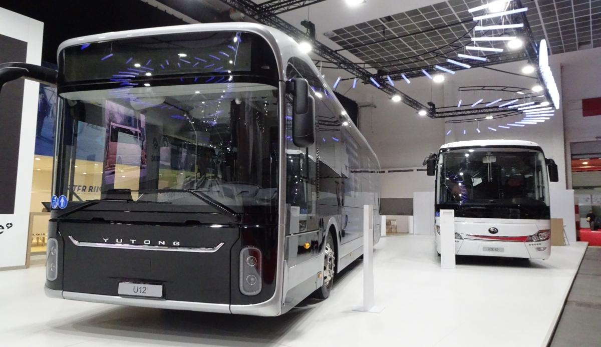 Yutong new buses at Busworld. Europe is the target - Sustainable Bus