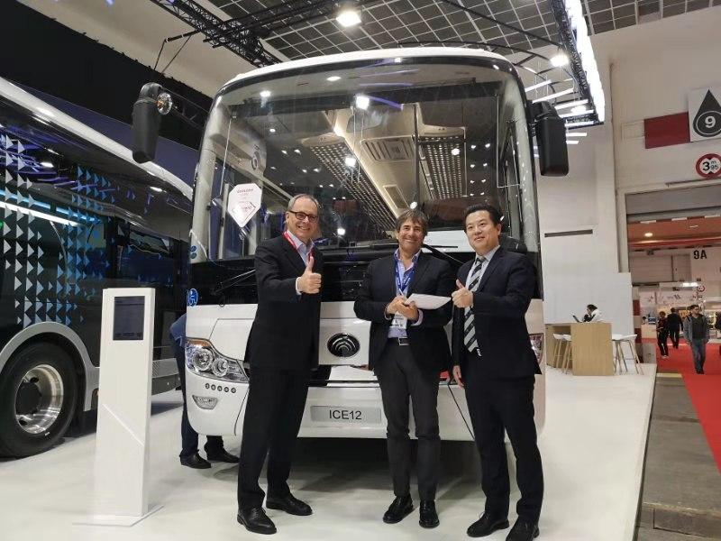 yutong electric coach venice