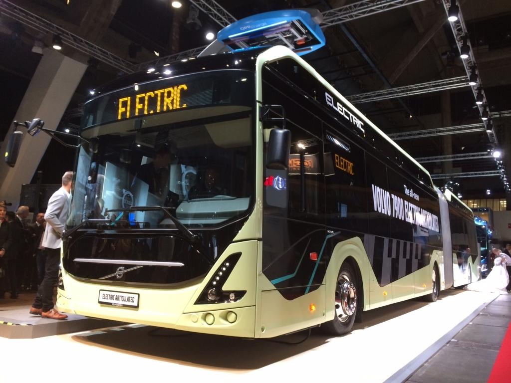 electric bus transdev