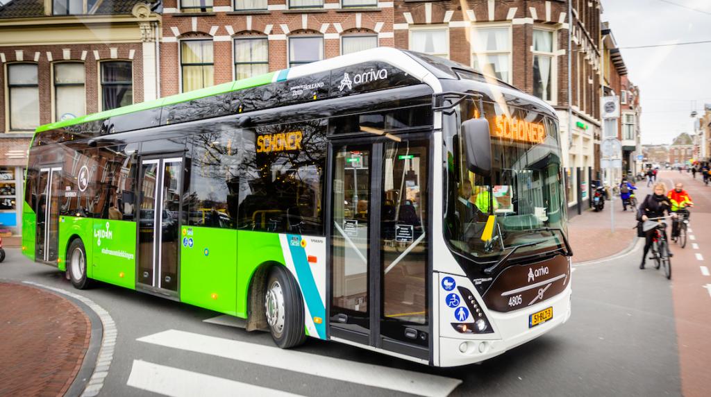 arriva electric bus netherlands