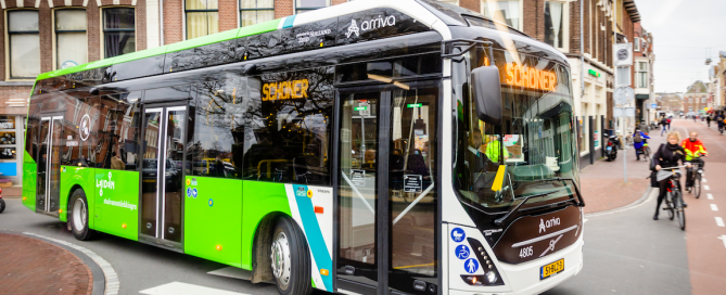 arriva electric bus netherlands