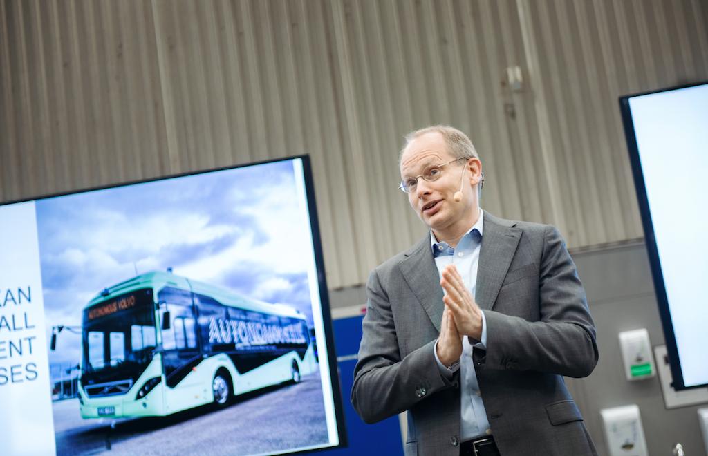 volvo bus driverless agnevall