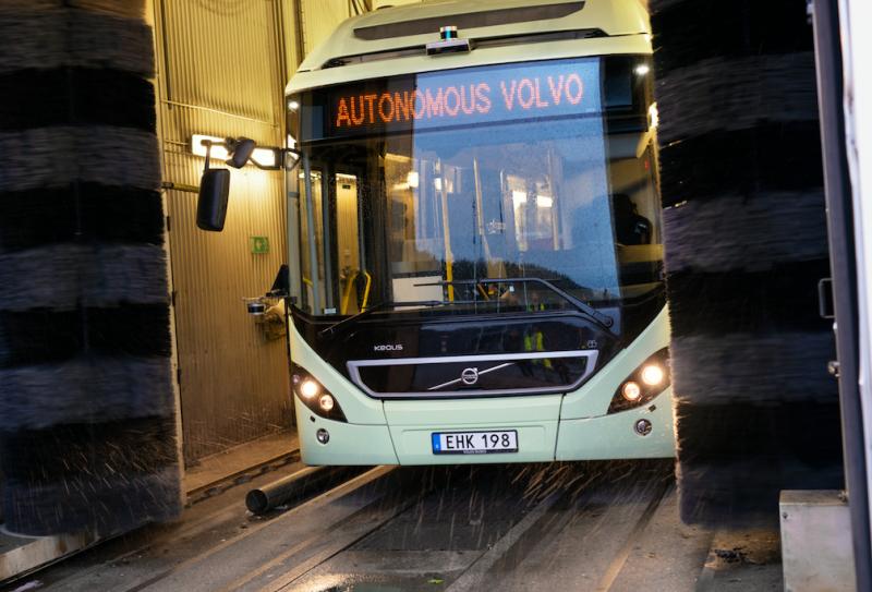 autonomous buses