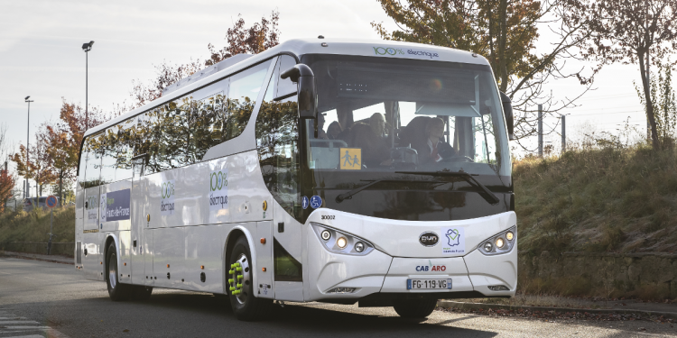 electric coach france