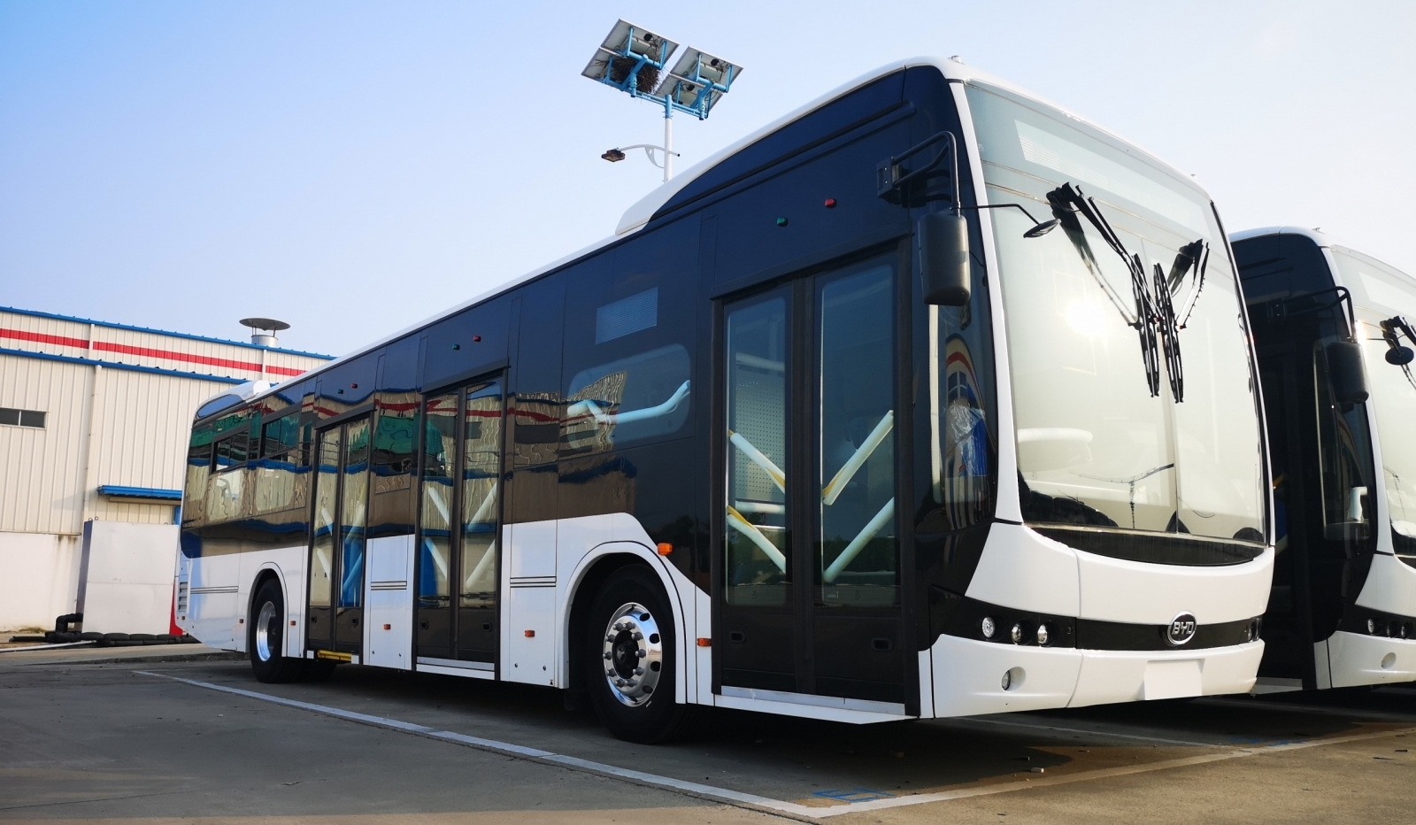 byd electric bus bogotà