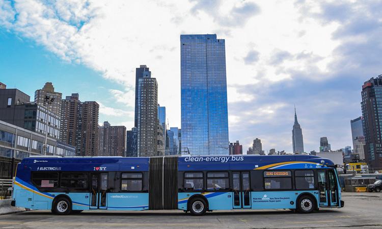 new york mta electric buses