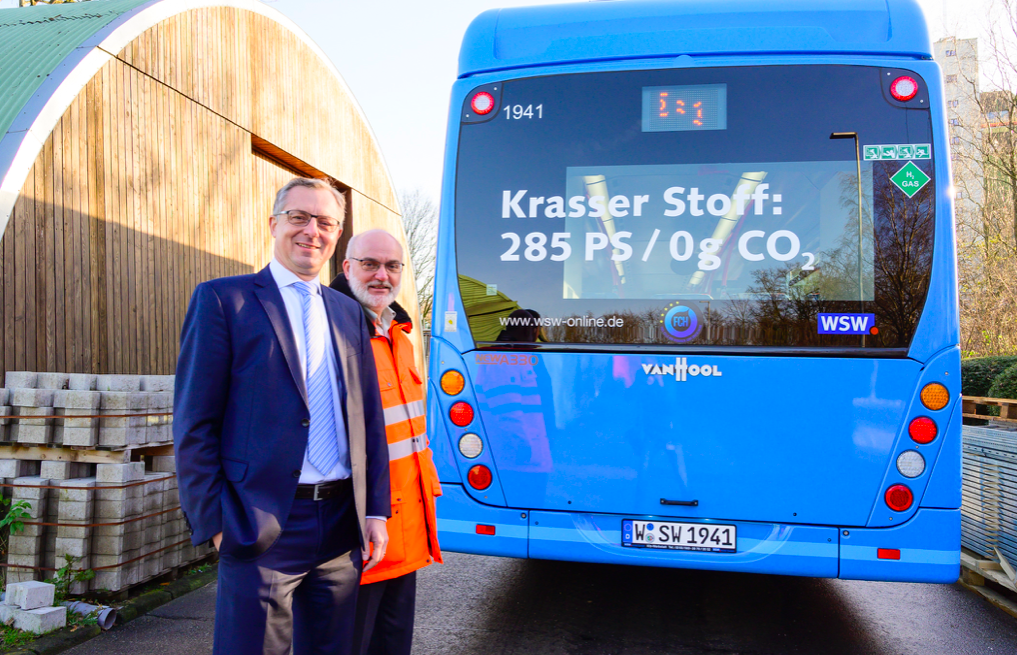 wuppertal fuel cell bus