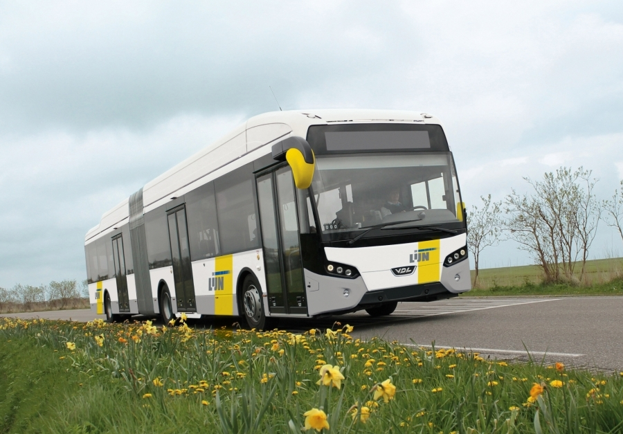 hybrid bus de lijn