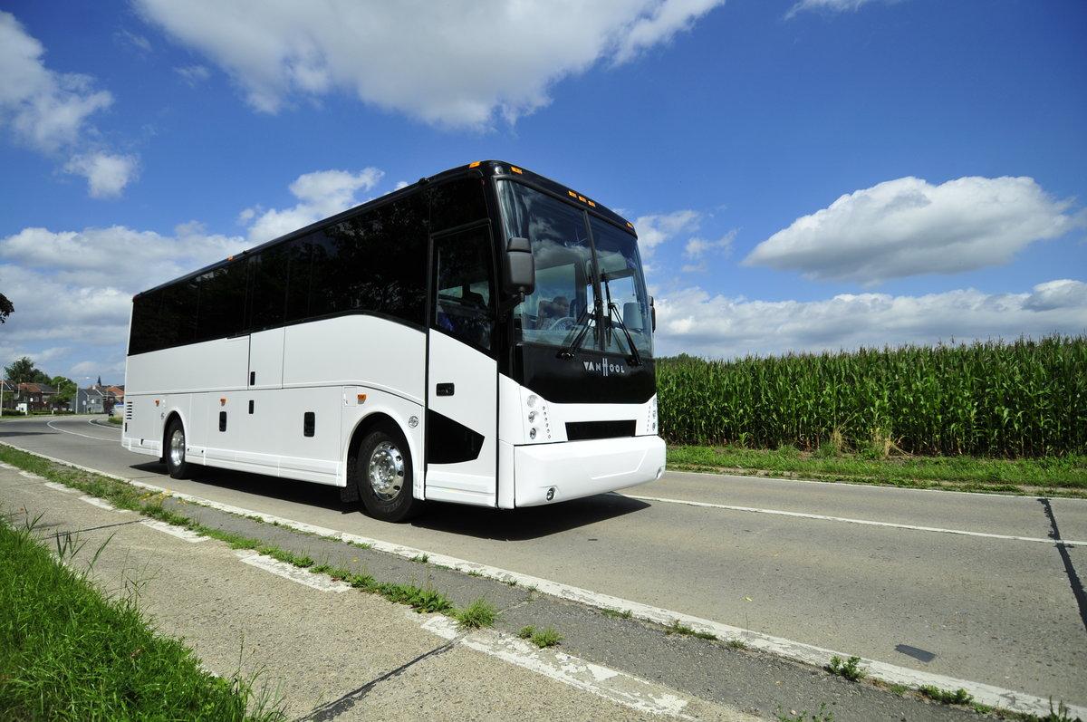 repowering van hool coach