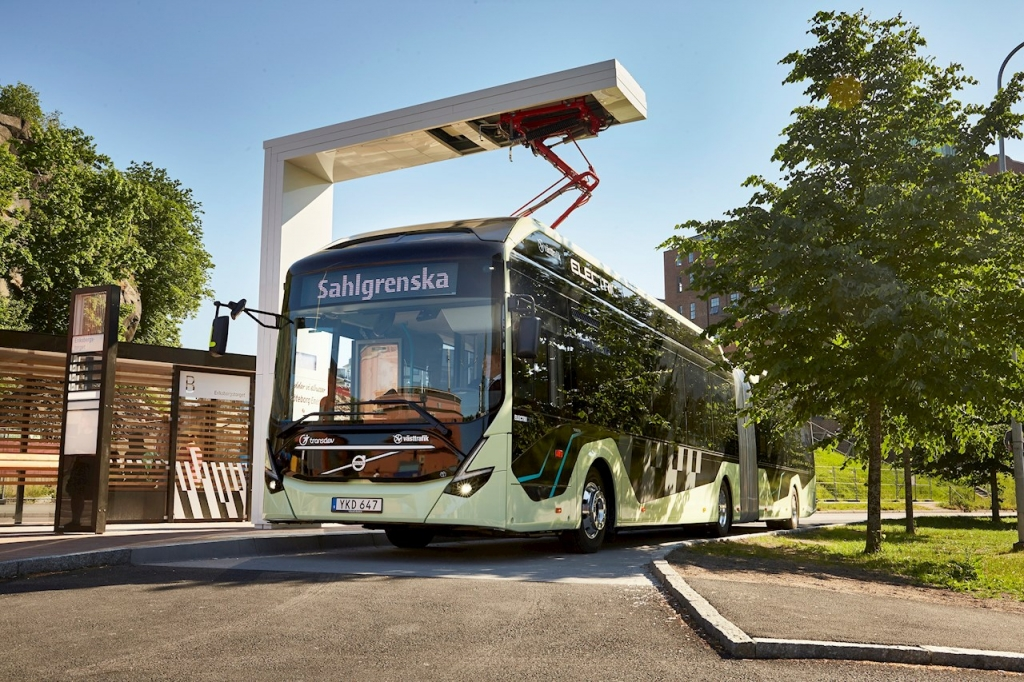 abb electric bus gothenburg