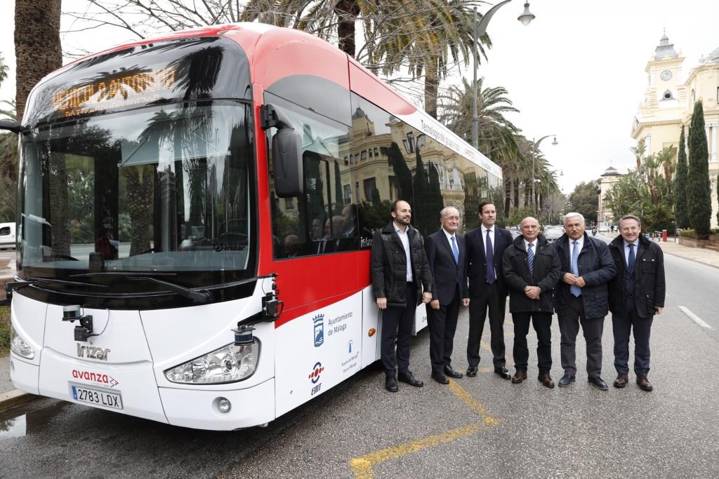 irizar autononmous bus