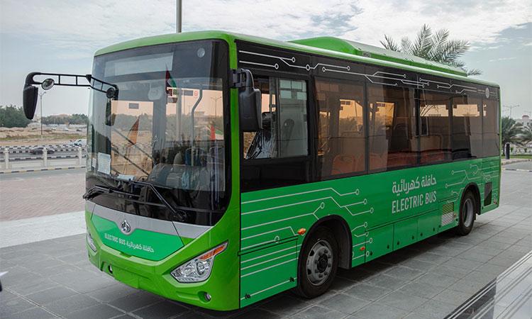 electric bus emirate united