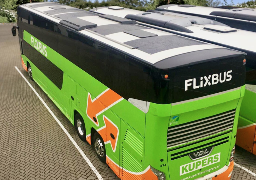 flixbus solar panels on buses