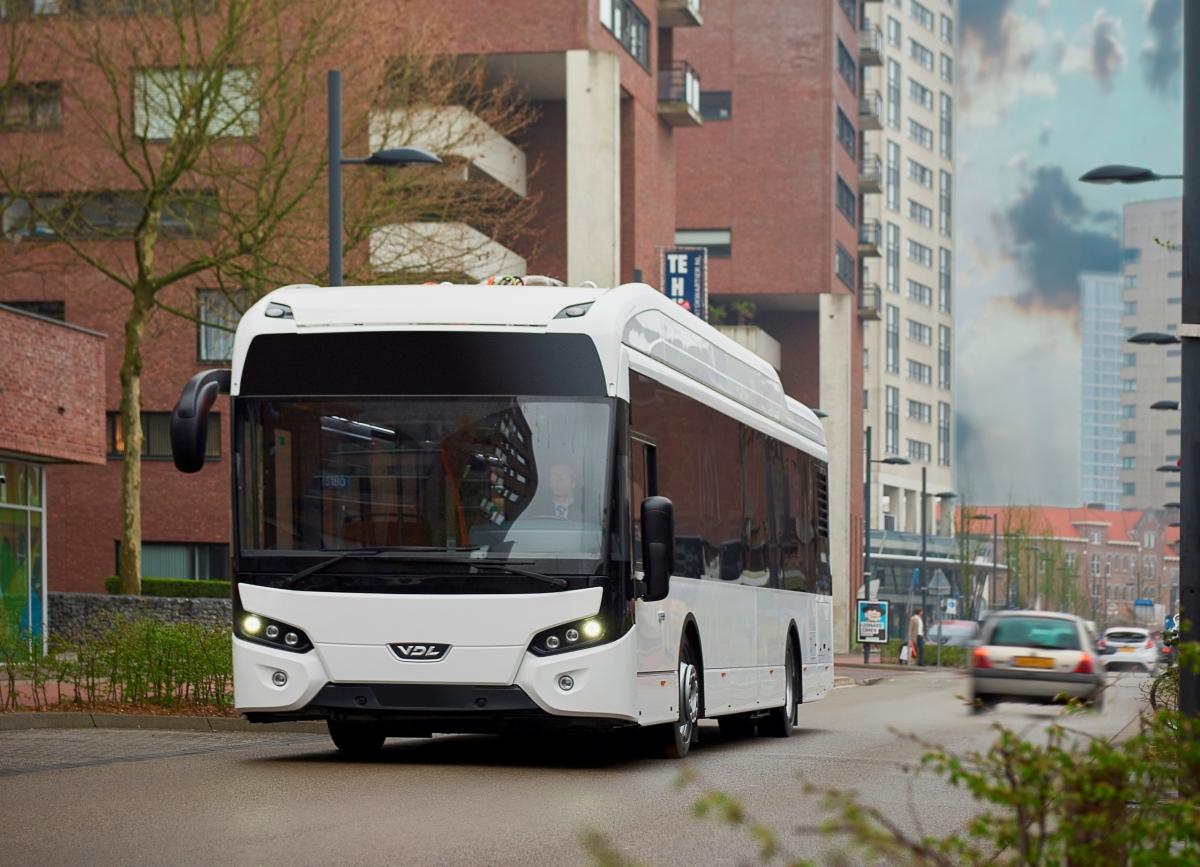 vdl electric bus malpensa
