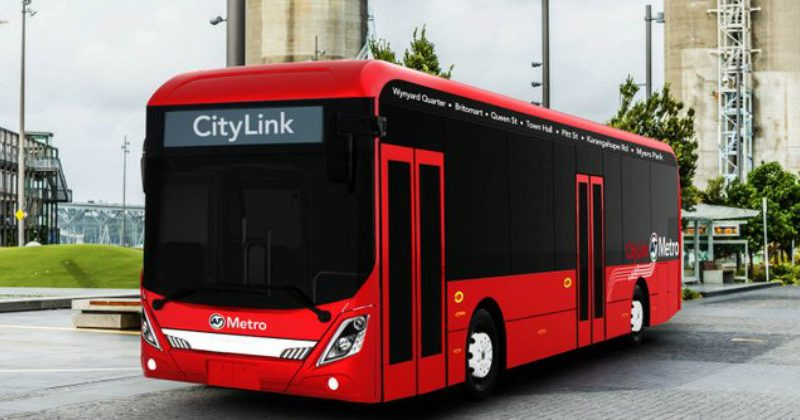 auckland electric buses