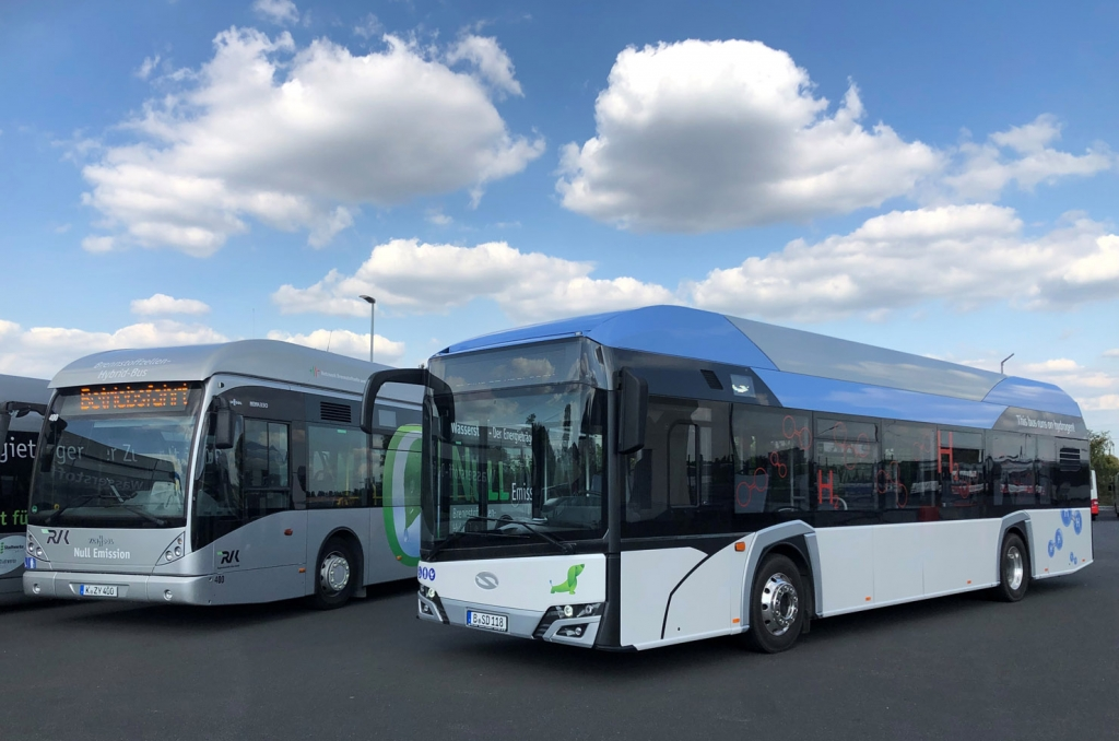 solaris fuel cell bus cologne