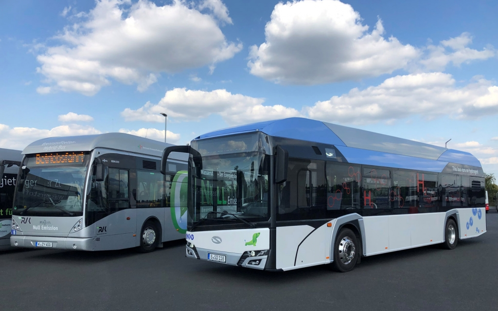 solaris fuel cell bus cologne
