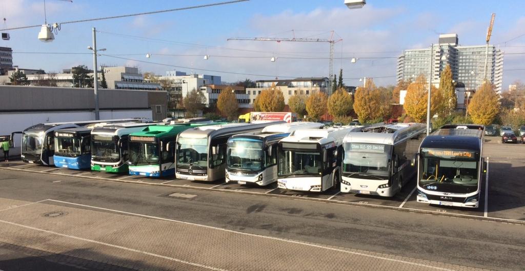 electric bus range