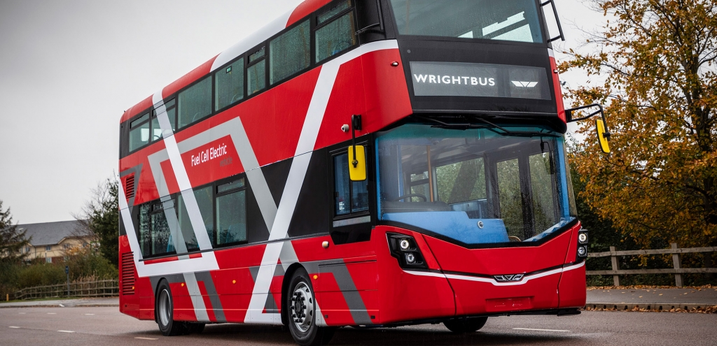 SustainableBus: Hydrogen double-deckers, the world's first time in Aberdeen.