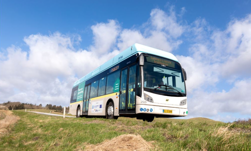 fuel cell buses in denmark