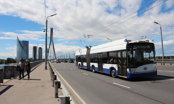 riga trolleybus fuel cell