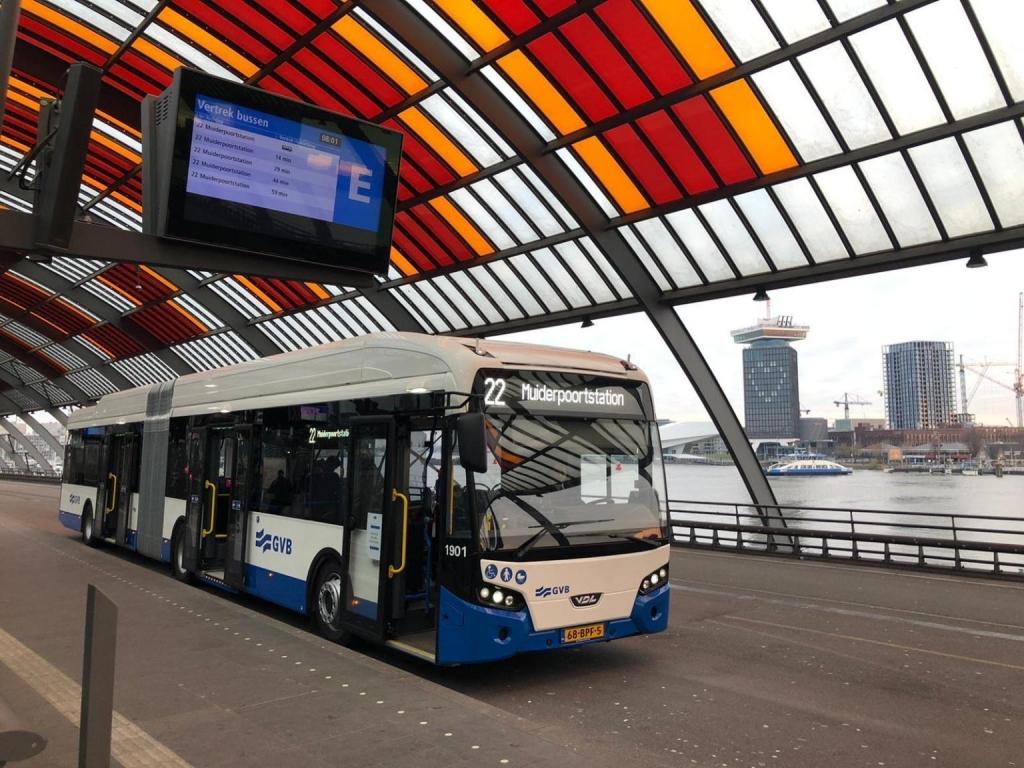 gvb amsterdam electric bus