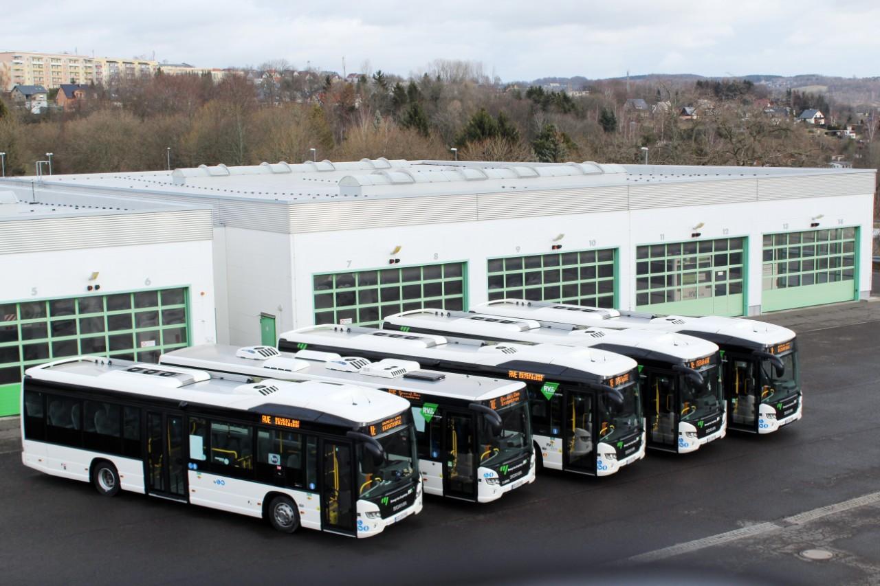 scania hybrid buses rve