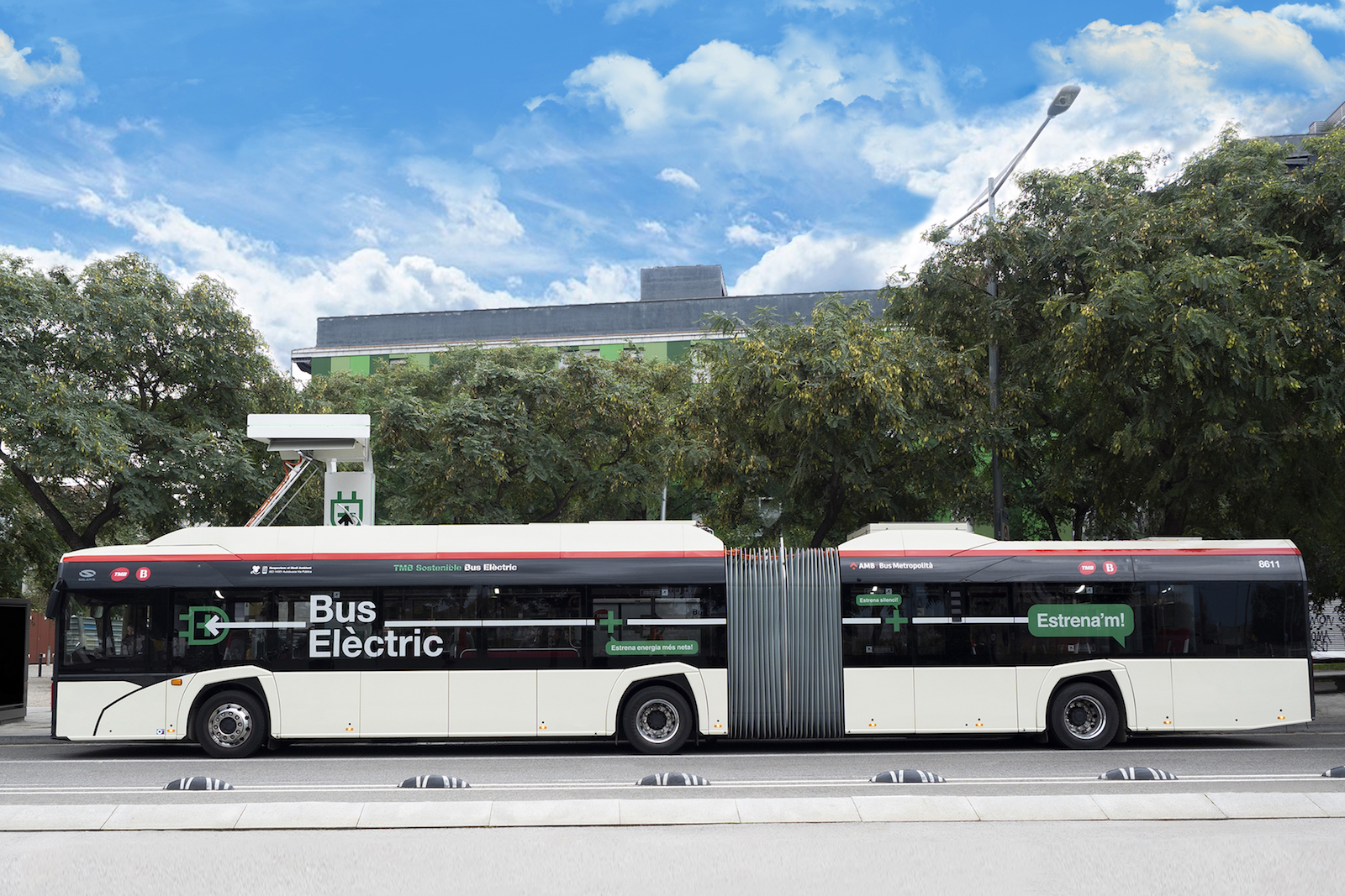 electric bus tmb barcelona
