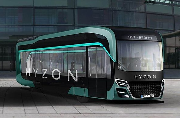 hyzon motors hydrogen bus