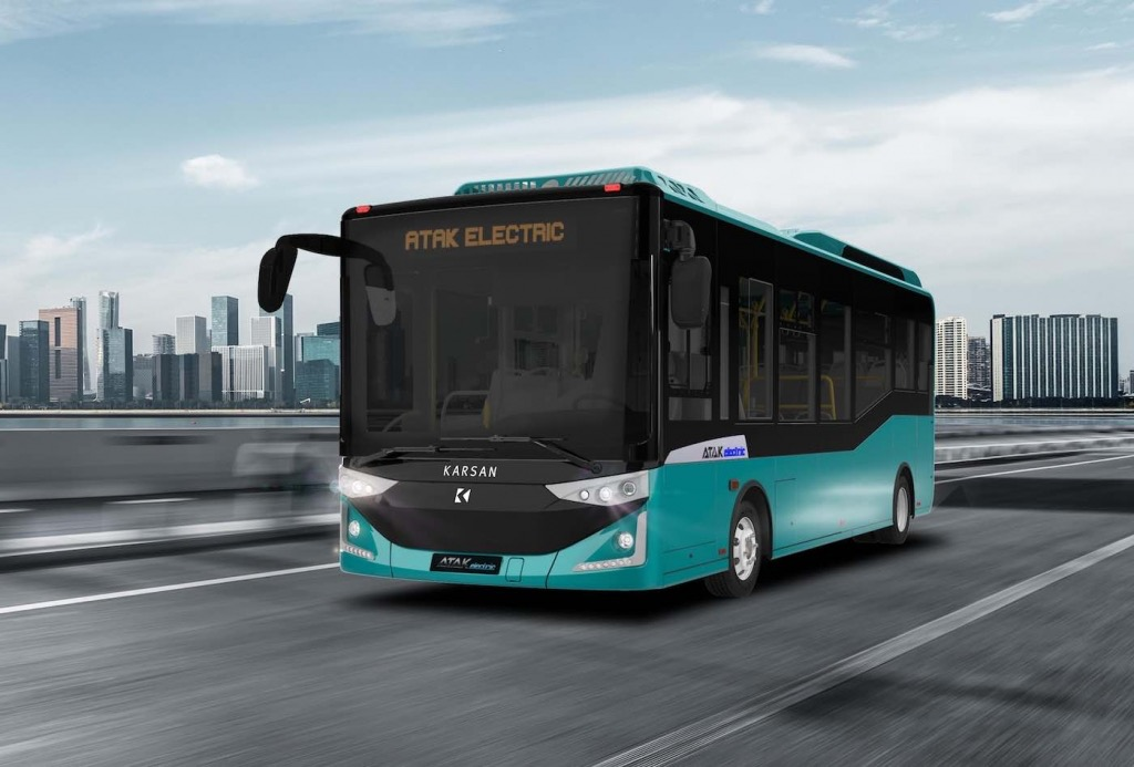 karsan autonomous bus atak