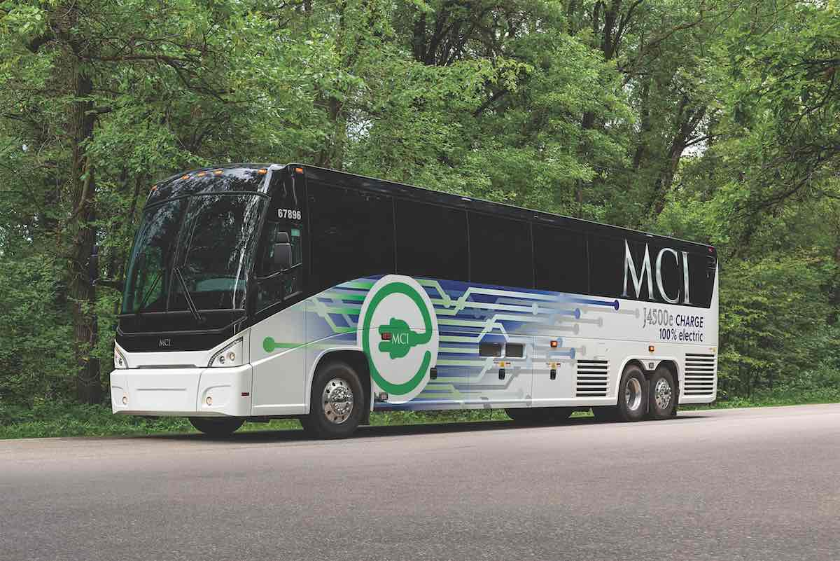 mci electric coach