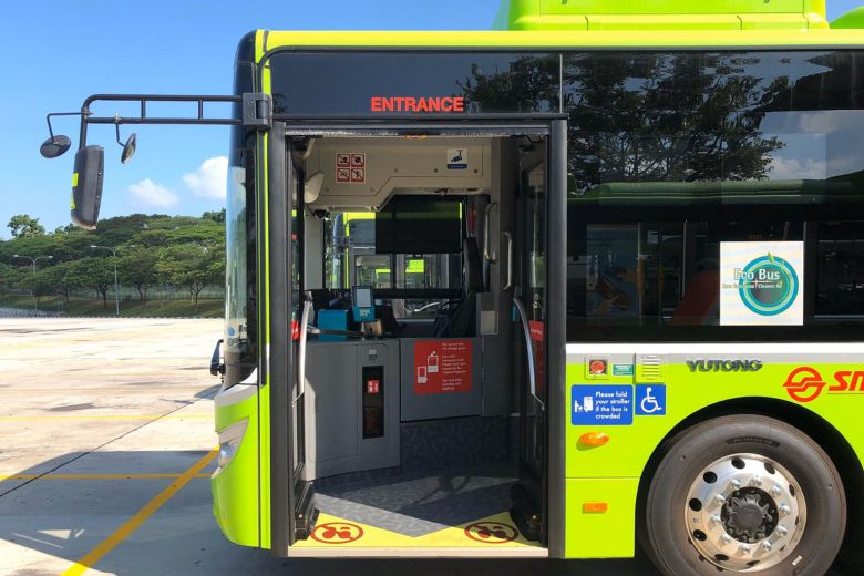 electric bus singapore