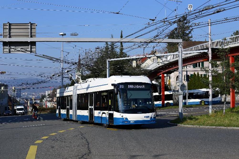 trolleybus zurich