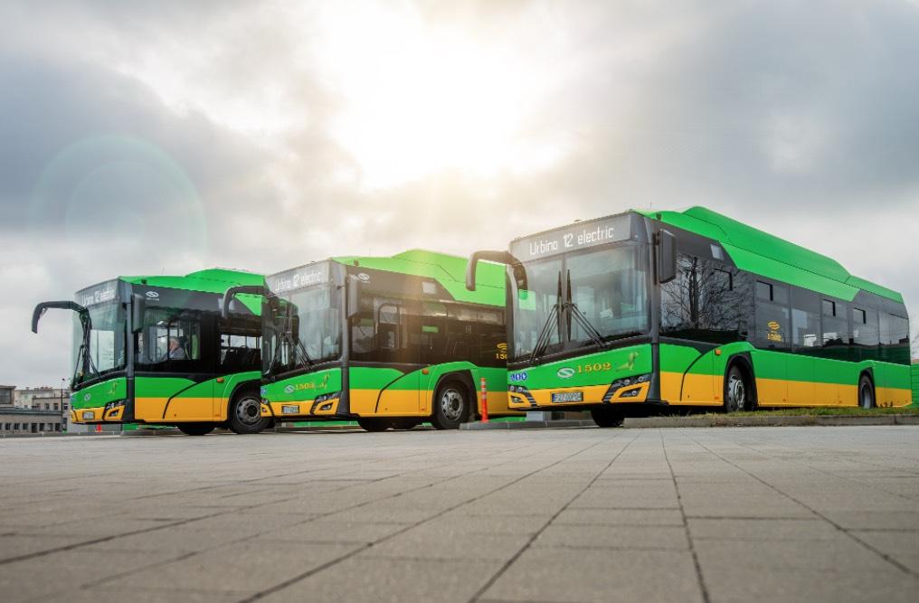 Poznań solaris bus