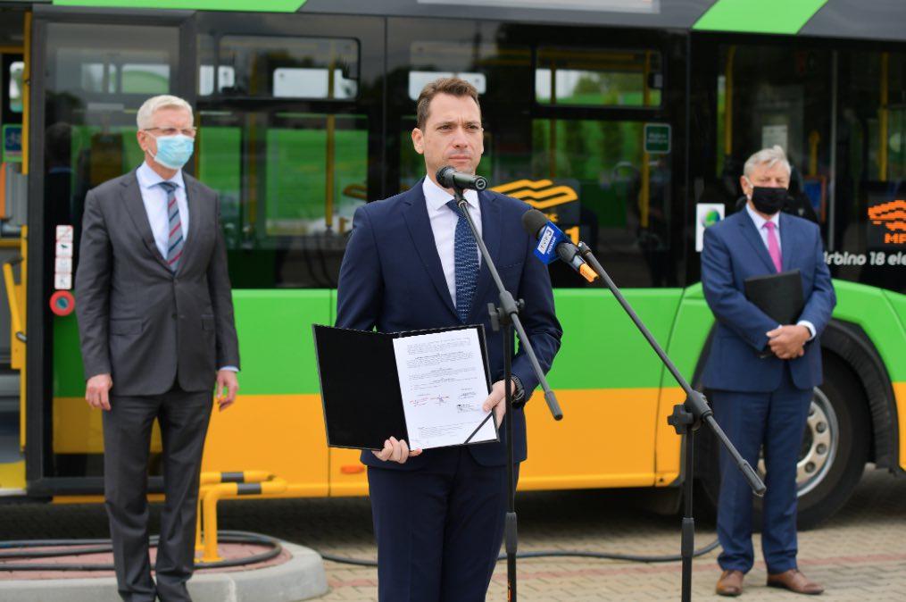 Poznań solaris buses