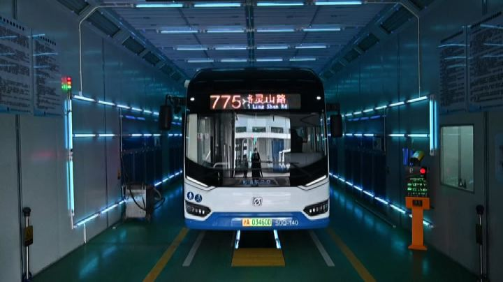 bus disinfection uv lights