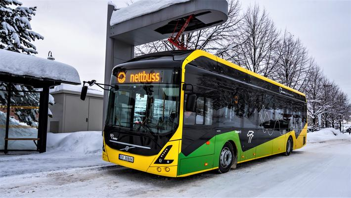 electric bus vy buss