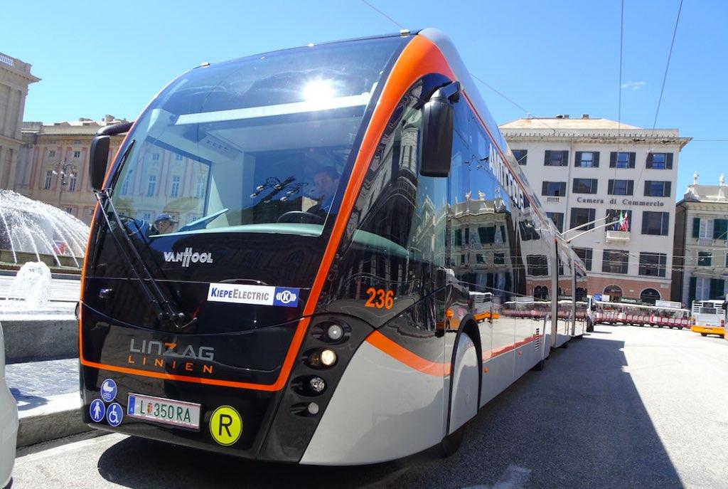 genoa trolleybuses