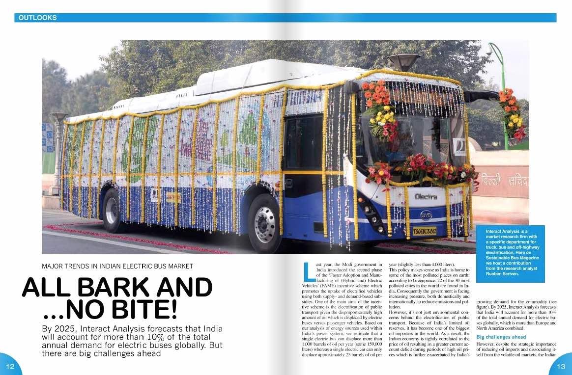 india bus market