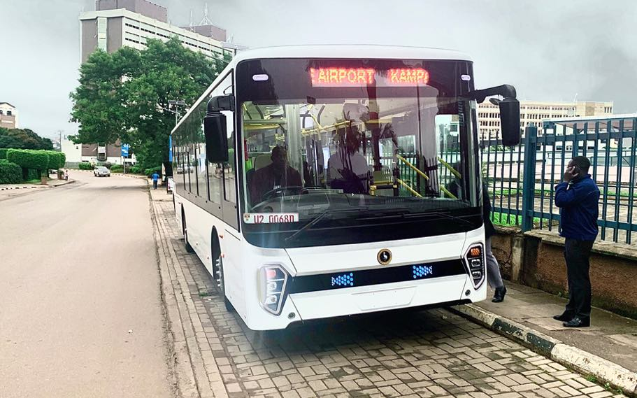 kiira kayoola evs electric bus uganda
