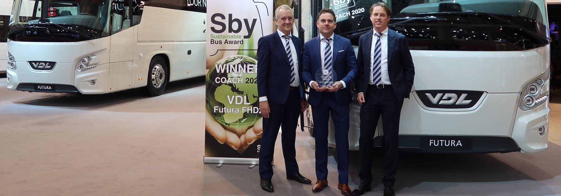 sustainable bus award sby