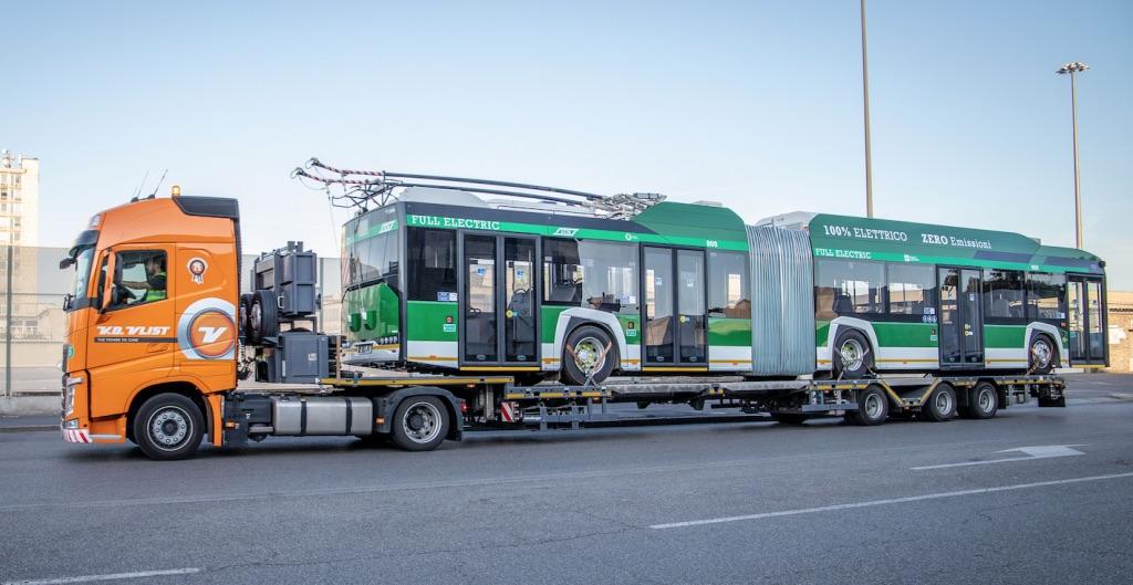 trolleybus milan