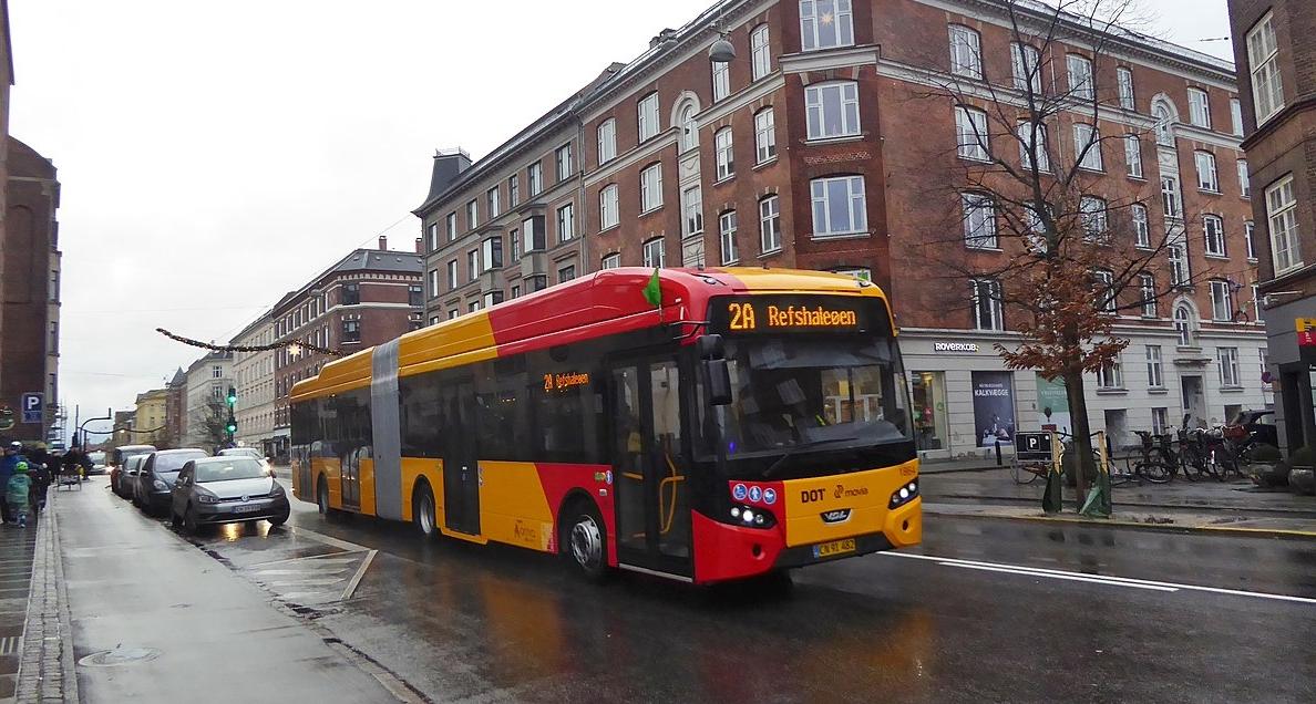 denmark electric bus elektriske busser